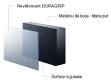Turbine NSK Ti-Max Z900L : revêtement Duragrip
